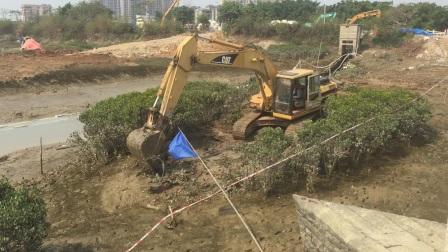泉州洛阳桥清淤工程