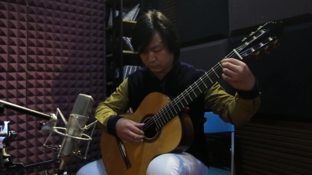 华国昌古典吉他音乐-演奏教学示范-想念你(哈巴涅拉)