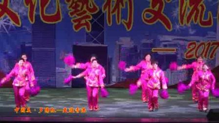"""""""中国美·夕阳红""""国际文化艺术交流演出《妹妹的山丹花开》"""