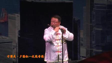 """""""中国美·夕阳红""""国际文化艺术交流演出""""笛子独奏""""《牧民新歌》"""