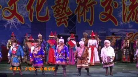 """""""中国美·夕阳红""""国际文化艺术交流演出《德都蒙古服饰秀》"""