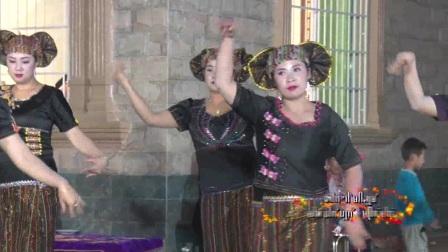 2017年4月2日 瑞丽市 棒蚌村 上新家跳舞活动