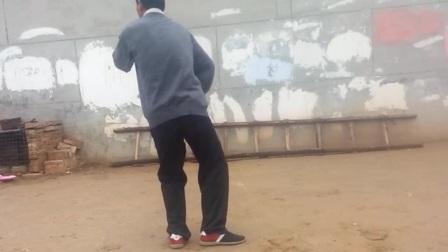 潘存忠背面演练传统武式太极拳三十九式