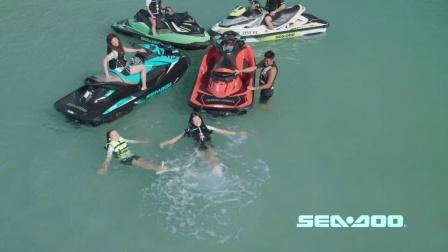 开启Sea-Doo摩托艇的水上休闲生活
