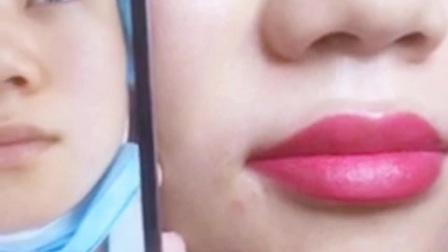 韩式水晶润唇视频【BM江南】漂唇视频全过程视频/水晶唇高清效果对比视频