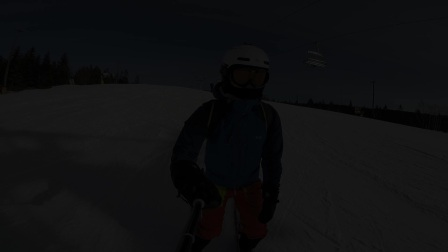 2016-2017 挪威奥斯陆冬季公园滑雪视频剪辑 (GoPro4S加飞宇WG穿戴式稳定器加灵眸Osmo)
