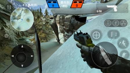 【子弹力量】村庄上雪山,浮空bug