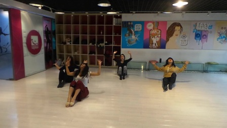 张平老师现代舞专修班结课视频《Skyfall》