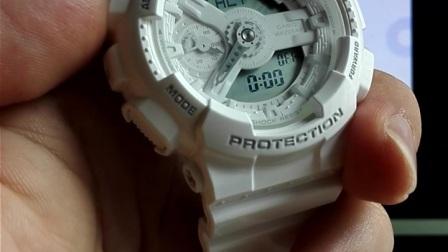 卡西欧G-SHOCK GA110、GMAS110手表闹钟的设定
