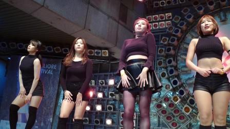 동대문 여성 댄스팀 클라썸 직캠 번외 CLAWSOME 밀리오레 2160p