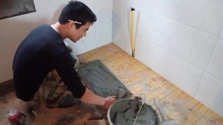 刘师傅贴厨卫墙面瓷砖
