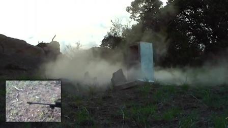 338 Lapua 狙击步枪 远程射击砖头!真正的狙击枪威力