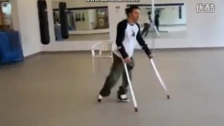 笑脸科技:残疾人的拐杖舞_标清