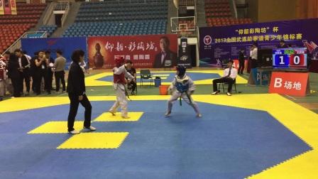 刘笑含2017跆拳道