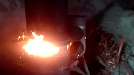 煤气瓶气化炉