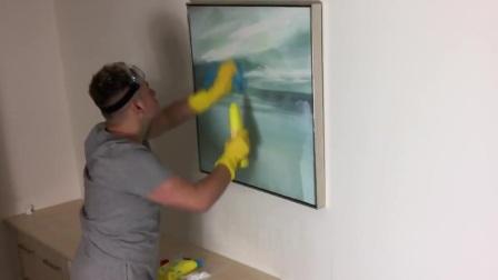 Elliot毁了1300万英镑的画