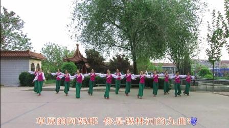 SD姐妹花广场舞队 梦回草原  编舞  花与影 视频制作  薇薇