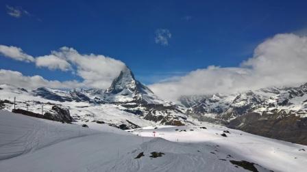201704 瑞士采尔马特滑雪视频