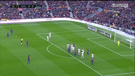 20170423国家德比 梅西VS皇马   不吹不黑 梅西是现在这个星球上最会踢足球的人