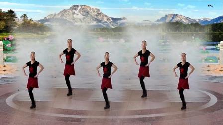 焦桥刁宋丽之舞广场舞一人变多人水兵舞《雪山姑娘》制作演示:丽之舞