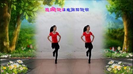 焦桥刁宋丽之舞广场舞单人水兵舞一莲版《爱的思念》