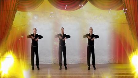 焦桥刁宋丽之舞广场舞现代舞《忧怨的舞娘》制作演示:丽之舞