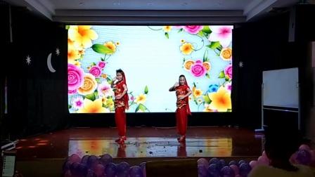 焦桥刁宋丽之舞广场舞印度舞《踩着我的节拍跳起来》制作:丽之舞