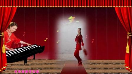 焦桥刁宋丽之舞广场舞手绢舞《大姑娘美大姑娘浪》