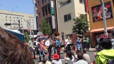 日本东京高円寺街头乐队水平如此之高!