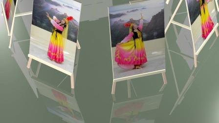 平面镜投影动画-3D制作练习(2)