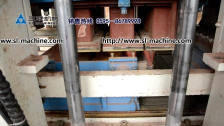 泉州三联机械透水路面砖机,QFT10-15免烧砖机, 彩砖机,砌块成型砖机
