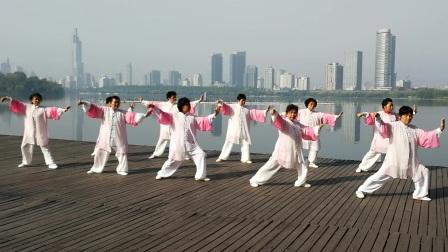 (20170415)南京玄武湖畔练24式太极拳