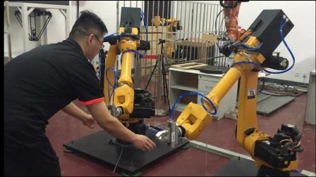 20170505  基于阻抗控制的双机器人协作(牵引和阻抗)