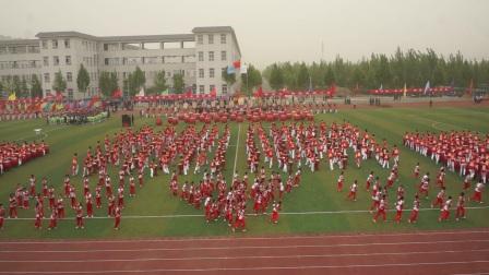 2017年运城市中学生田径运动会开幕式:鼓舞河东