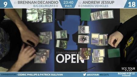 SCGATL - Round 9 - Brennan DeCandio vs Andrew Jessup