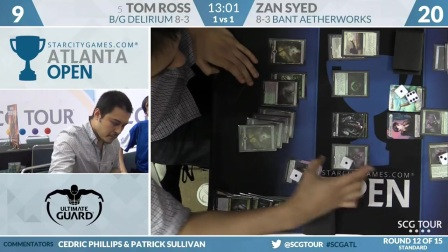 SCGATL - Round 12b - Tom Ross vs Zan Syed