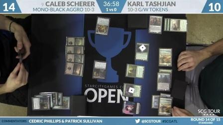 SCGATL - Round 14 - Caleb Scherer vs Karl Tashjian