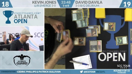 SCGATL - Round 4 - Kevin Jones vs David Davila