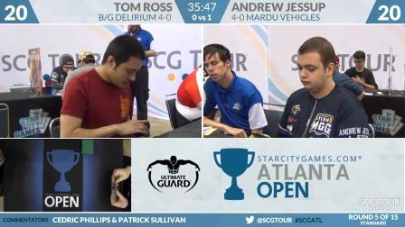 SCGATL - Round 5 - Tom Ross vs Andrew Jessup