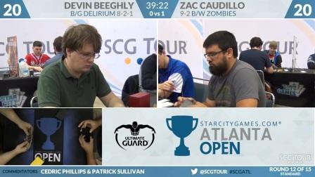 SCGATL - Round 12 - Zac Caudillo vs Devin Beeghly