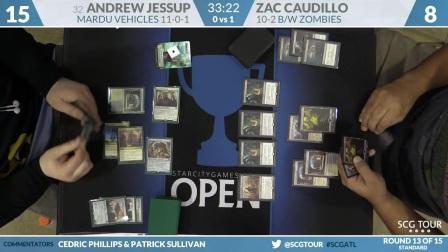 SCGATL - Round 13 - Andrew Jessup vs Zac Caudillo