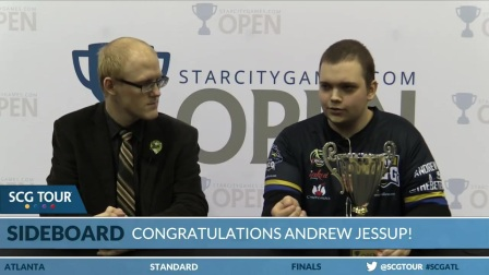 SCGATL - Winners Interview with Andrew Jessup