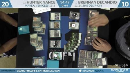 SCGATL - Round 15 - Hunter Nance vs Brennan DeCandio