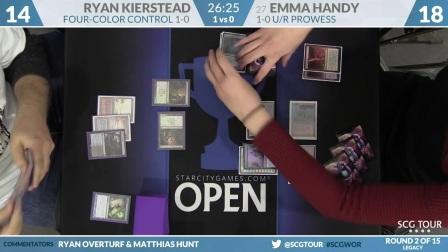 SCGWOR - Round 2 - Ryan Kierstead vs Emma Handy (Legacy)