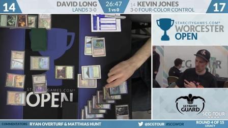 SCGWOR - Round 4 - David Long vs Kevin Jones (Legacy)