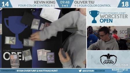 SCGWOR - Round 6b - Kevin King vs Oliver Tiu (Legacy)