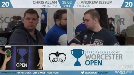 SCGWOR - Round 8 - Chris Allen vs Andrew Jessup (Legacy)