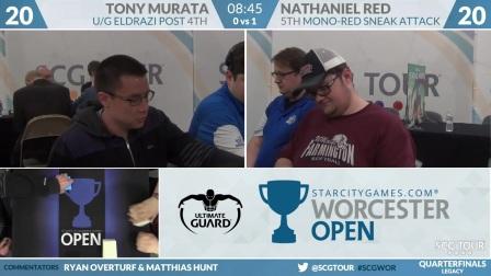 SCGWOR - Quarterfinals - Tony Murata vs Nathaniel Red (Legacy)