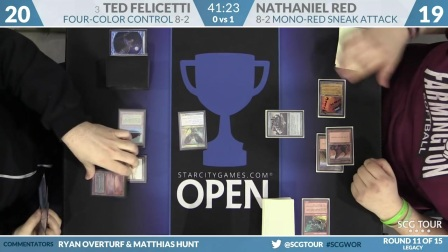 SCGWOR - Round 11 - Nathaniel Red vs Ted Felicetti (Legacy)