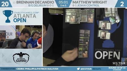SCGATL - Round 10b - Brennan DeCandio vs Matthew Wright